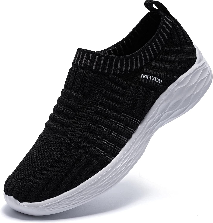MHXDU specialty shop Women's Walking Shoes Ultralight OFFicial store C Socks Slip-On for