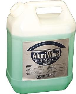 業務用 アルミホイールの黒焼け・花咲を除去 アルミサッシ・面格子・手すりなどにも利用できます アルミホイールクリーナー(4L)