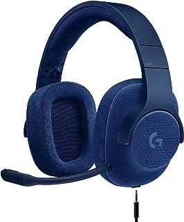 Logitech Logitech 981-000650 G433 7.1 有线游戏耳机带 DTS 耳机:X 7.1 ?#21857;?#30005;脑、PS4、PS4 PRO、Xbox One、Xbox One S、任天堂开关 - 红色981-000681 G433 皇家蓝 7.1