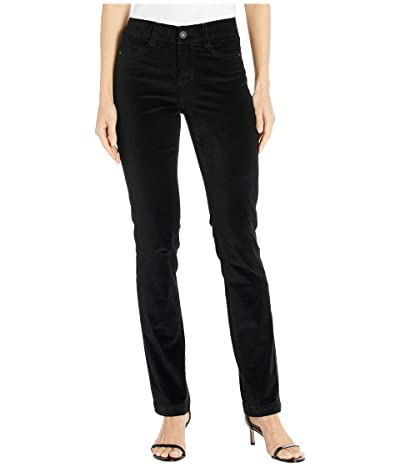 Jag Jeans Ruby Straight Corduroy Pants (Black) Women