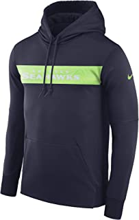 the latest e40a9 b5af4 Nike Dri-FIT Therma (NFL Seattle Seahawks) Men s Pullover Hoodie