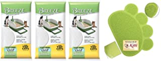 Tidy Cats Breeze Pads - Pack of 10 (3-Pack Bundle)