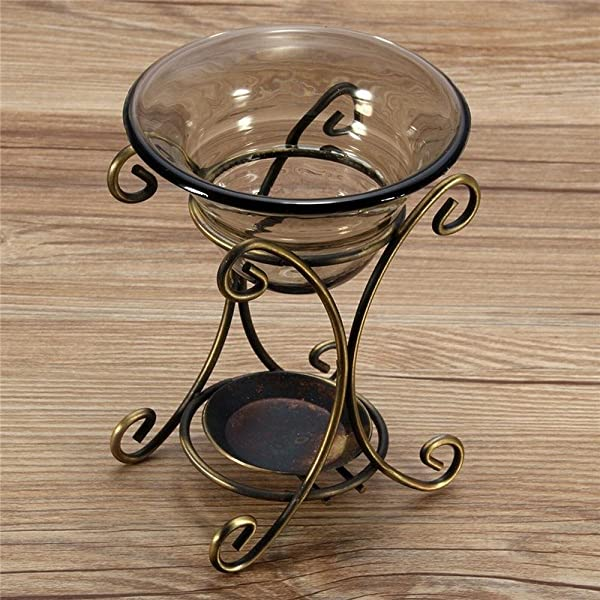 Incense Burner Iron Design Restoring Ancient Ways Aromatherapy Diffusion Air Humidifier Essential Oil Heater For Bar