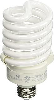 TCP 150 Watt Equivalent Single-Pack CFL Spiral Light Bulb, Non-dimmable, Daylight 6500K 4894265k