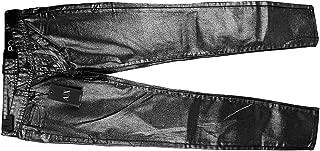 A/x Armani Exchange 98% Cotton Silver Gunmetal Womens Girls Jeans Size 00 New