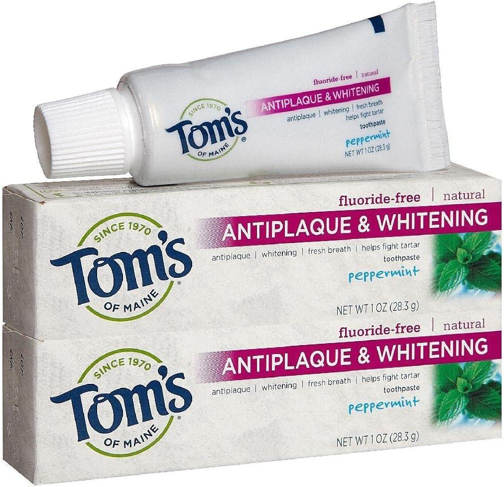 Tom's of Maine Antiplaque Tartar Whitening plus Control Toothpas Direct Mesa Mall store