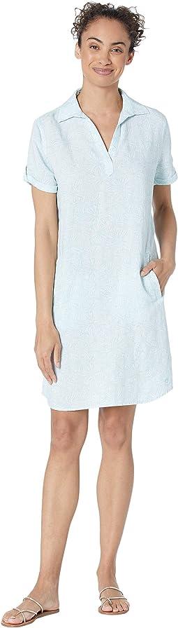 Kamryn Printed Shirtdress