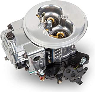 NEW HOLLEY ULTRA XP CARBURETOR,POLISHED WITH BLACK BILLET,2BBL,500 CFM,NO CHOKE,2300,GASOLINE