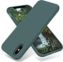 OTOFLY Liquid Silicone Gel Rubber Full Body Protection Shockproof Case for iPhone Xs/iPhone X,Anti-Scratch&Fingerprint Bas...