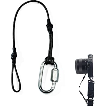 TIES カメラ ストラップ デジタル一眼レフカメラ専門安全用 落下防止 ストラップ カメラ専門の吊りひもストラップ キャップ ストラップ 落下防止 ワイヤー (1pcs)
