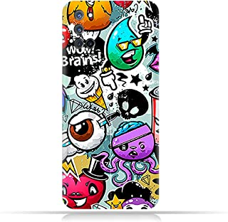 AMC Design TPU Mobile Case Cover for Oppo A92 with Bizarre Characters Pattern
