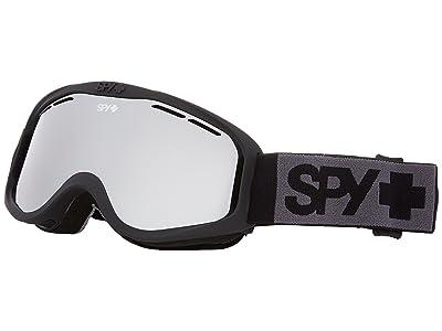 Spy Optic Cadet (Matte Black/Silver Mirror) Goggles