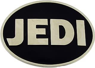 Star Wars Belt Buckle Jedi Logo Black Silver Oval Finished Rock Rebel Original