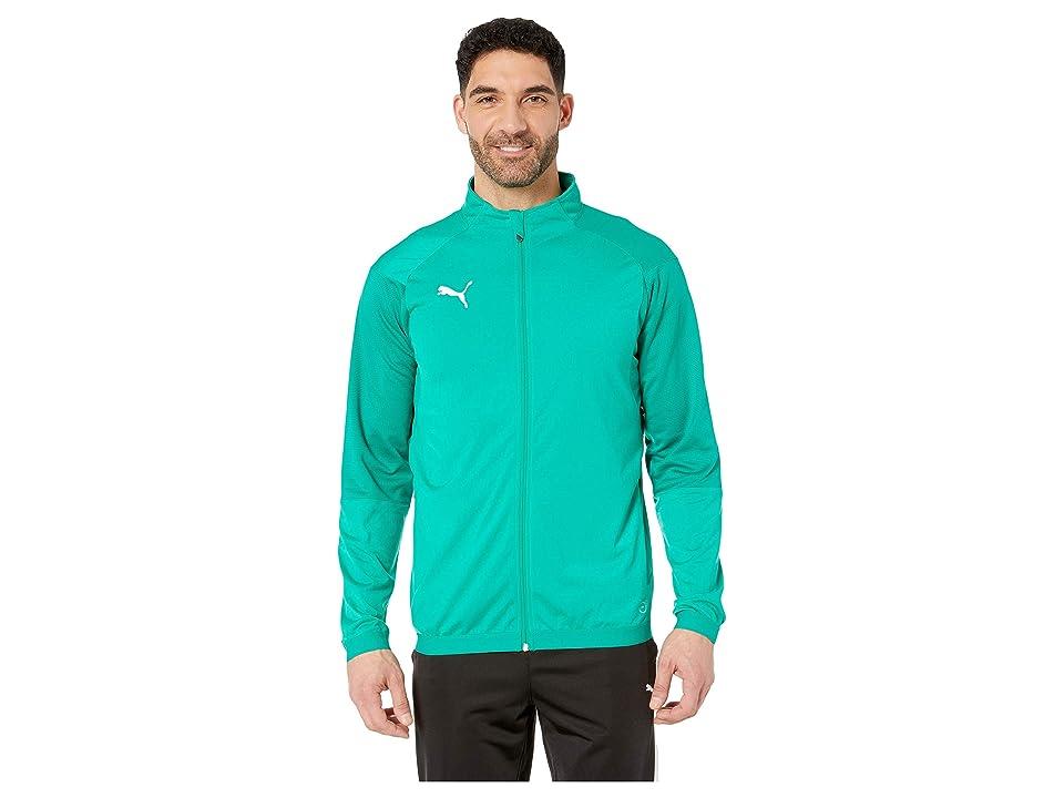 PUMA Liga Training Jacket (Pepper Green/Puma White) Men