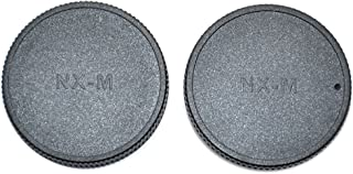 43mm + Lens Cap Holder Lens Cap Side Pinch Nw Direct Microfiber Cleaning Cloth for Samsung NX500