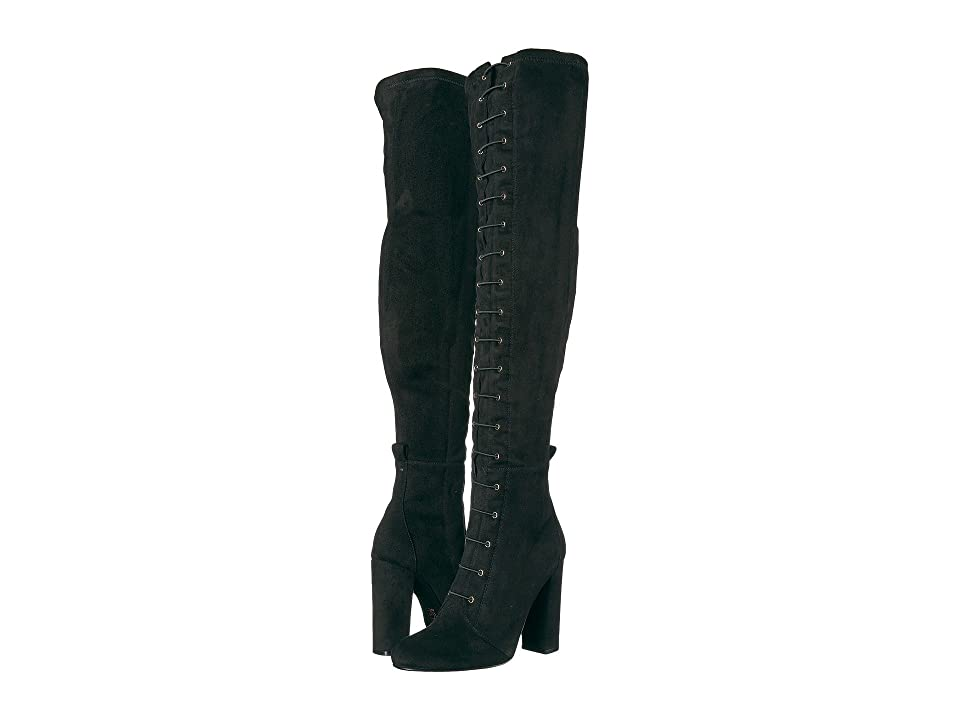 f245b3bba88 Chinese Laundry Benita Boot (Black Suedette) Women