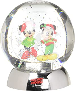 Department 56 Disney Classic Brands Mickey and Minnie Waterdazzler Waterball, 4.5