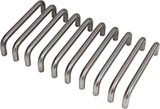 Gedotec kastgreep RVS meubelgreep keukenbooggreep 192 mm voor kastdeuren - GEOS | deurgreep RVS mat geborsteld | greep mas...