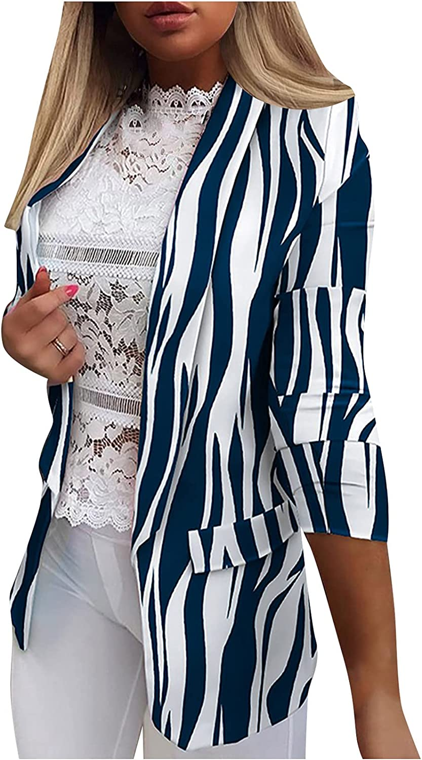 Blazers for Women Fashion free Year-end gift shipping Casual Coats Work Long Jackets Office
