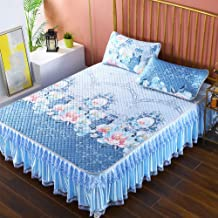 Lace Mattress Cover,Non-Slip Bed Skirt Zipper Design,Can Disassemble European Style Bedding Collections -1 Mattress Cover,...