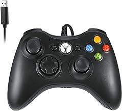 Manette compatible pour Xbox 360 USB filaire console de jeu PC PC compatible avec Windows 7 / 8 / 10 Microsoft Xbox 360 et...