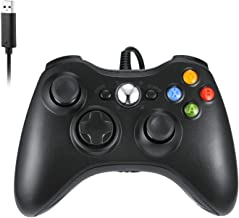 Wired Controller Compatible with Xbox 360 -USB Wired Video Game Console PC Computer Controller for Windows 7/8/10 Microsoft 360 and Slim