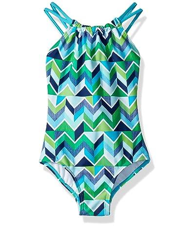 Kanu Surf Jasmine Beach Sport Halter One-Piece Swimsuit (Toddler)