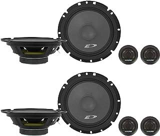 "(2) Pairs Alpine SXE-1751S 6.5"" 280 Watt Car Audio Component Speakers photo"