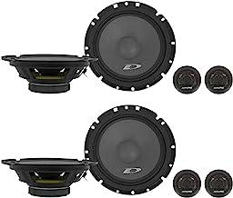 "$89 » (2) Pairs Alpine SXE-1751S 6.5"" 280 Watt Car Audio Component Speakers"