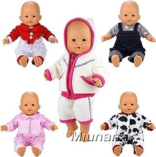 7c399e861 Miunana 5x Ropas Casual Ropas Fashion para 14 pulgadas muñeca bebé 36 cm  Doll