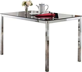 Best coaster company chrome glass top dining table Reviews