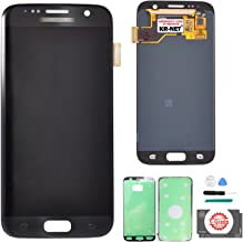 KR-NET LCD AMOLED Display Touch Screen Digitizer Assembly for Samsung Galaxy S7 SM G930 G930F G930A G930V G930P G930T G930R4 G930W8 (Black Onyx) + Tools