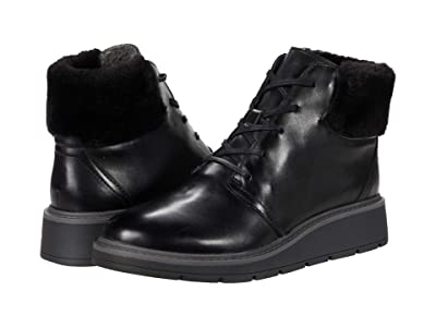 Clarks Andie Go (Black Waterproof Leather) Women
