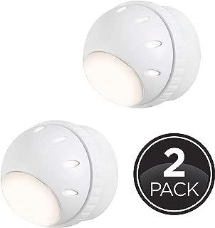 GE Light Sensing LED Night Light, 360° Rotation, 2 pk