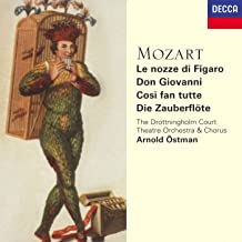 Mozart Operas Le nozze di Figaro / Don Giovanni / Così fan tutte / Die Zauberflöte The Drottningholm Court Theatre Orchestra & Chorus / Arnold Östman