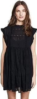 embellished linen dress