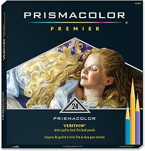 SANFORD / PRISMACOLOR SA2427 PRISMACOLOR VERITHIN PENCIL 24 COLOR SET