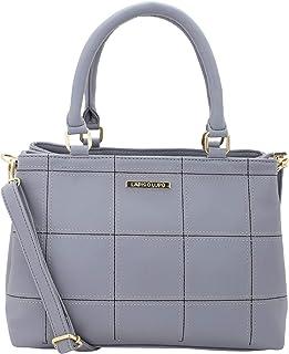 Lapis O Lupo Women's Handbag (LLHB0038GY_Grey)