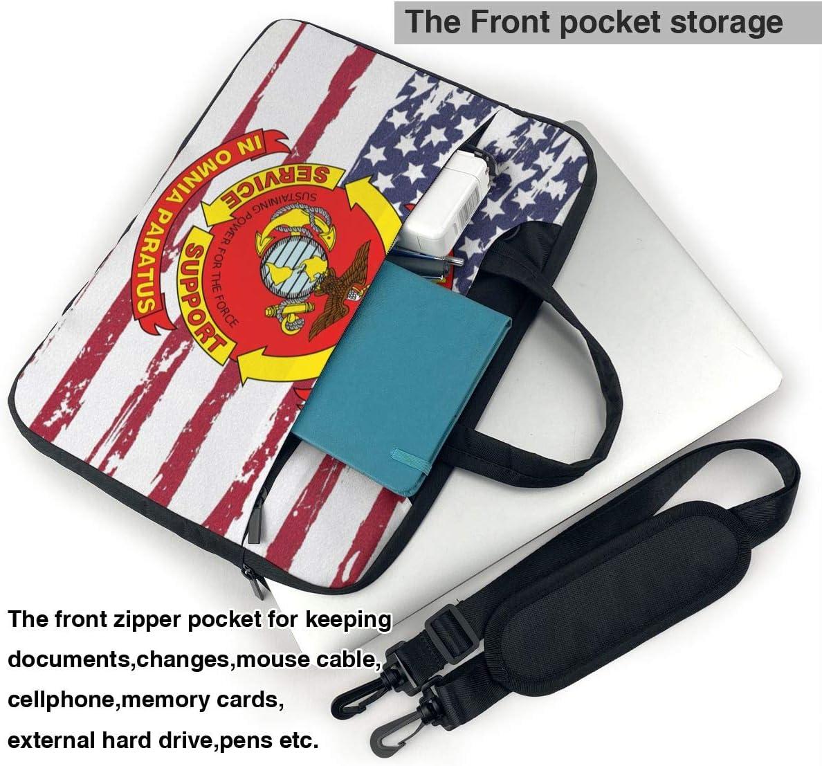 4th Marine Logistics Group Laptop Bag One Shoulder Shockproof Laptop Bag
