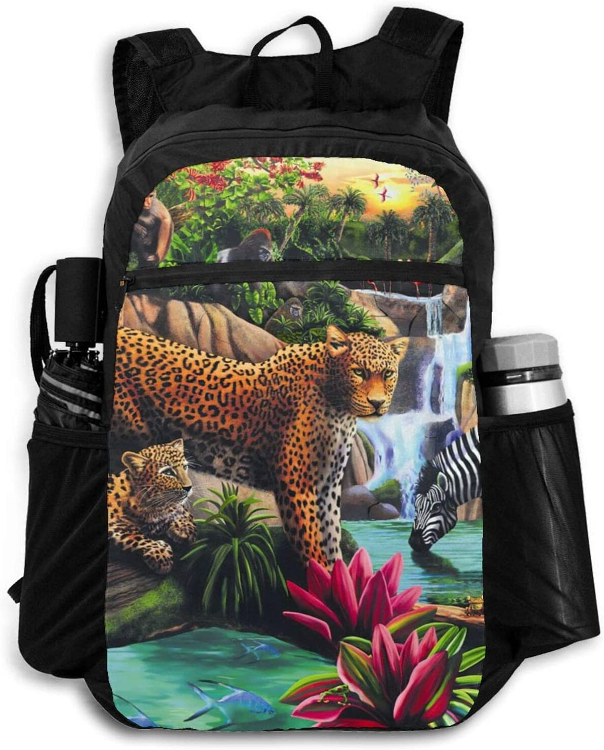 Zolama Cute Animals in Recommendation Jungle Men Packa Backpacks for Women Ranking TOP3