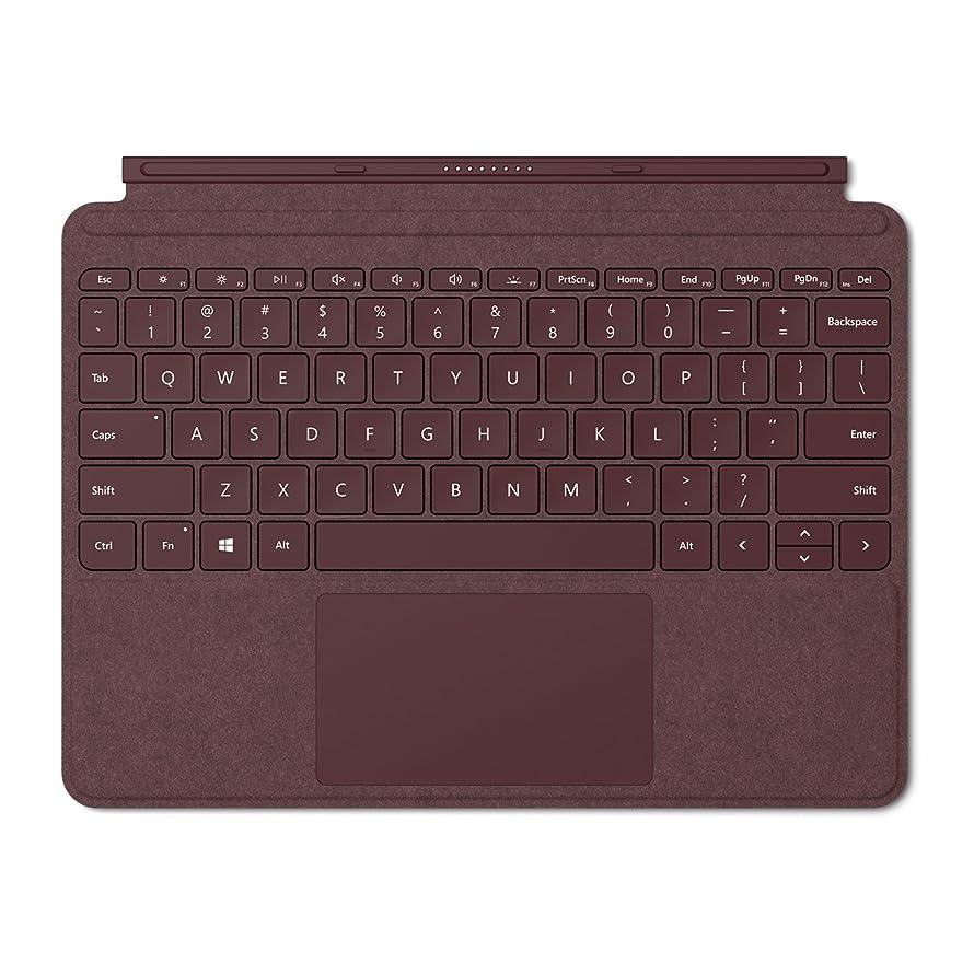 流ナビゲーション十Surface Go Signature タイプ カバー [US 英語版 英字配列] (バーガンディ)