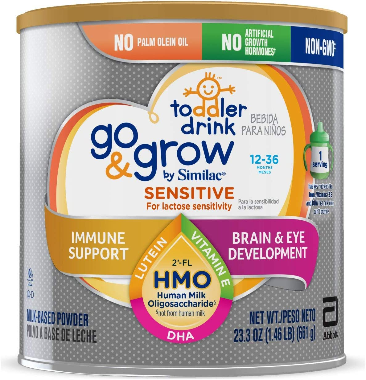 Mail order Similac Go Grow by Popular standard Sensitive Non-G