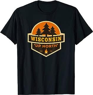 Retro Wisconsin Up North Shirt