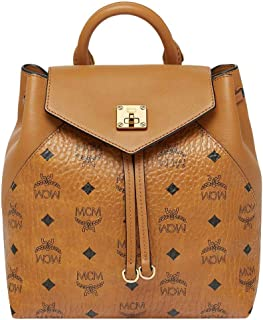 MCM Women's Essential Visetos Original Backpack Small