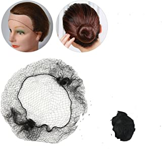 Hairnets Qualified 40pcs High Quality Disposable High Quality Elastic Hairnets Dancing Or Sport Net Invisible Ballet Net