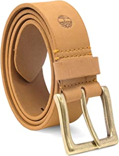 Men's 38 Mm Boot Leather Wheat Belt