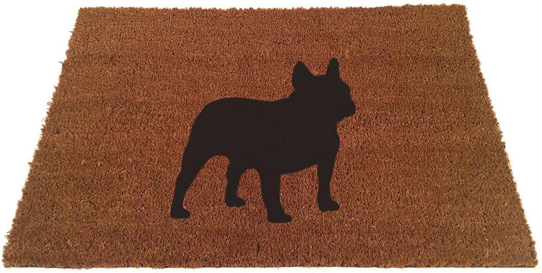 UncommonDoormats French Bulldog Silhouette Doormat (24 x35 )