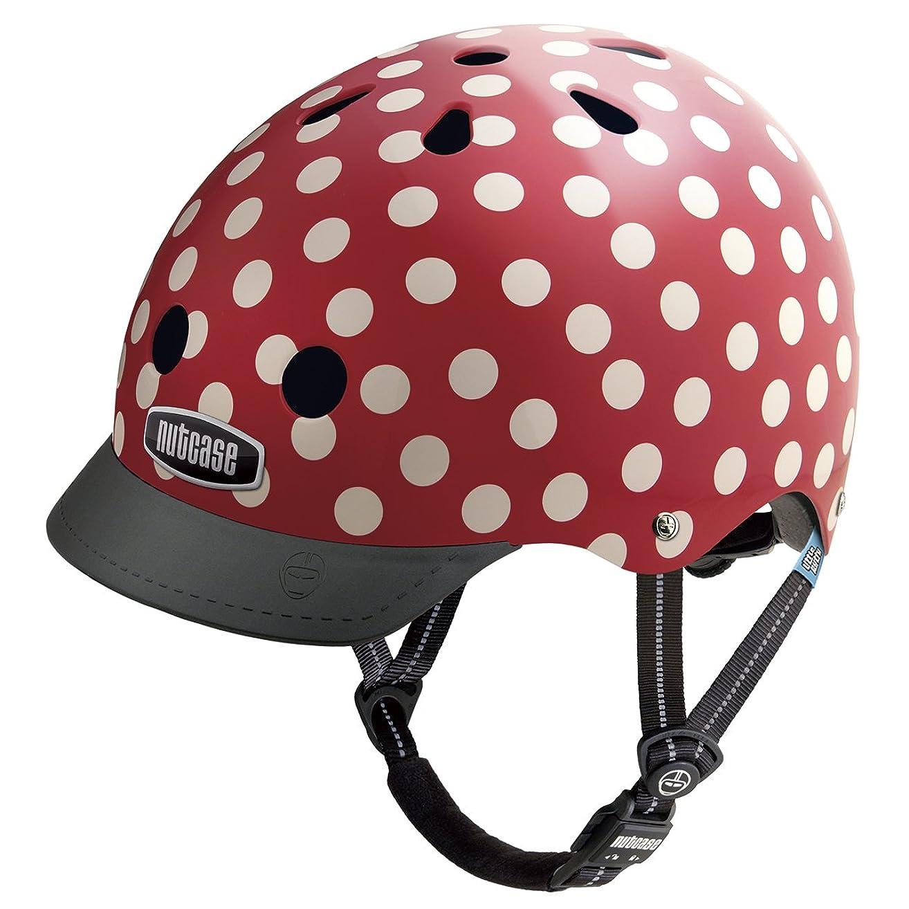 ペネロペささやきマチュピチュNutcase(ナットケース) Little Nutty / Simi Mini Dots 幼児?子供用ヘルメット / XSサイズ:48cm52cm