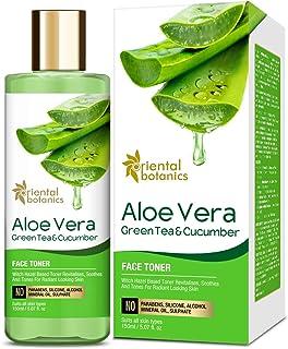 Oriental Botanics Aloe Vera, Green Tea & Cucumber Face Toner - 150ml