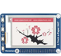 pzsmocn 264 176, 2.7inch E-Ink Display HAT(B) 3.3V Black,White and Red for Arduino/STM32/Nucleo/Raspberry Pi 2B/3B/Zero/Zero W, with Interface of 3-Wire SPI¡¢4-Wire SPI